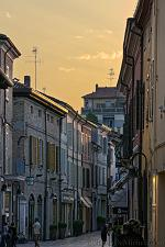 slides/IMG_2292H.jpg Italy, Emilia Romagna, Ravenna, town, architecture, history, street, shop, sunset, house, HDR IVC2 - Italy - Ravenna - Street at Sunset